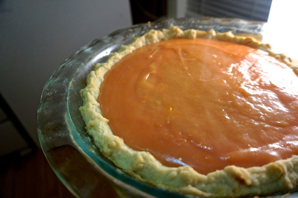 Blood Orange Meringue Pie - Kitschen Cat