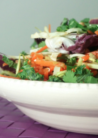 5 Minute Skinny Asian Salad