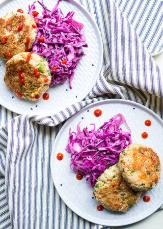 Spicy Loaded Crab Cakes