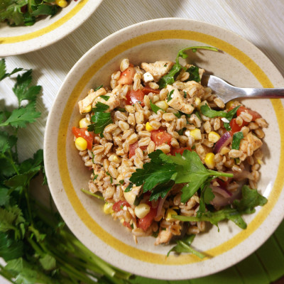 Colorful Farro Salad