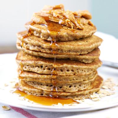 Coconut Chia Pancakes