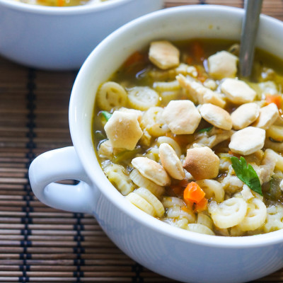 15 Minute Chicken Noodle Soup