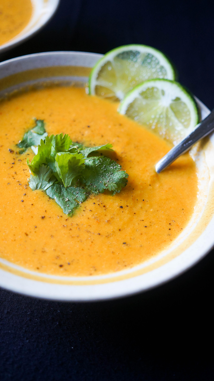 Curried Cauliflower Soup - Kitschen Cat