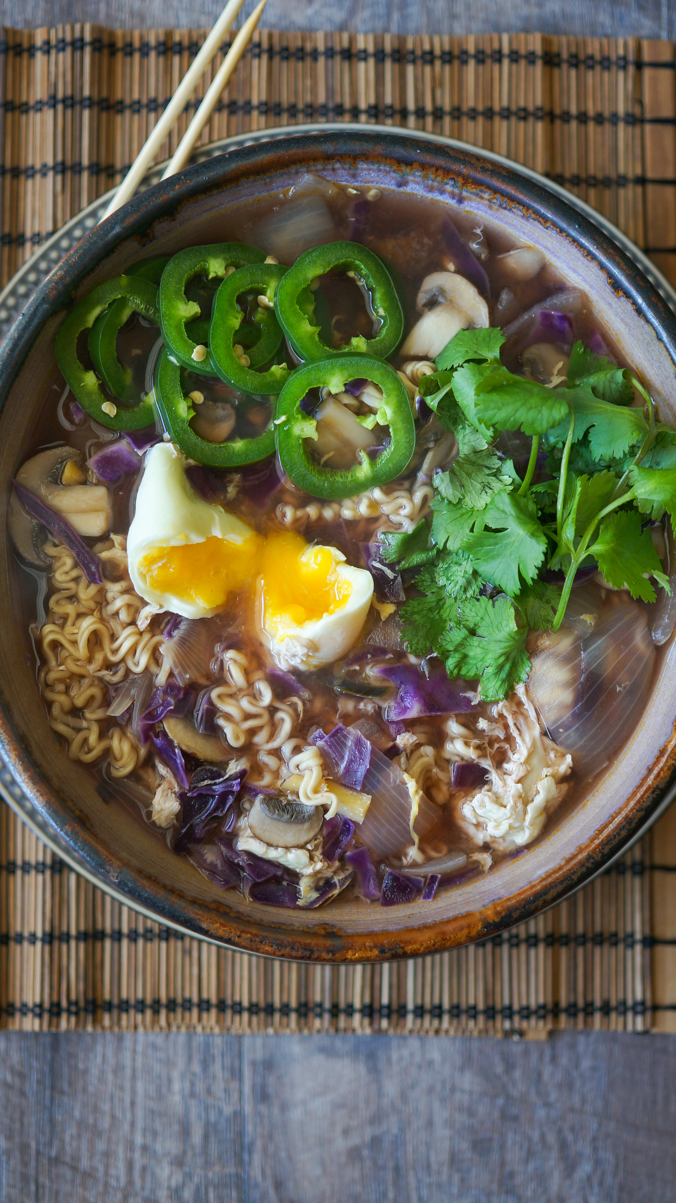 Simple Homemade Ramen - Kitschen Cat