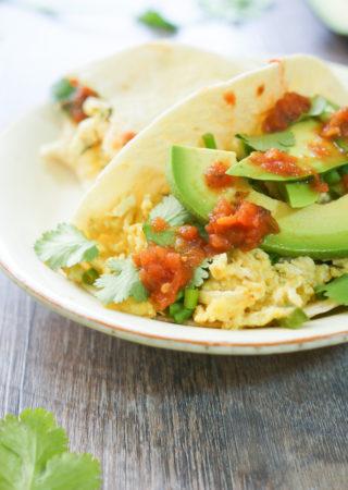 Migas Breakfast Tacos