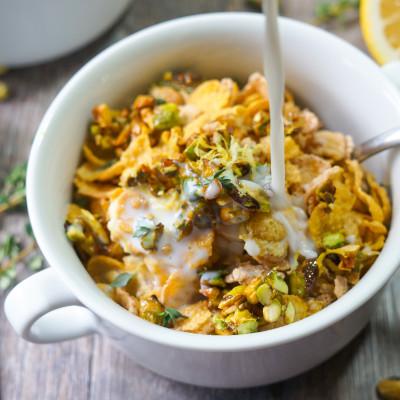 Lemon Pistachio Cereal