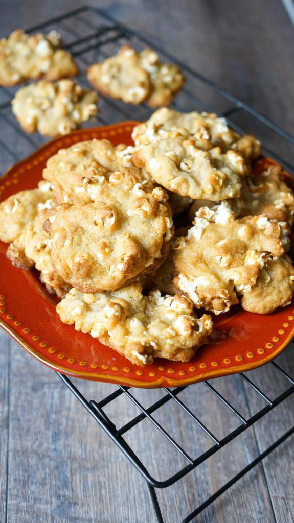 Buttery Popcorn Cookies Kitschen Cat