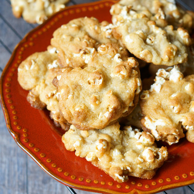 Buttery Popcorn Cookies