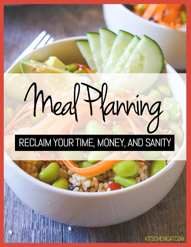 Kitschen Cat Meal Planning Ebook