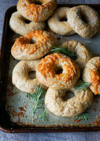 Rosemary Garlic Bagels