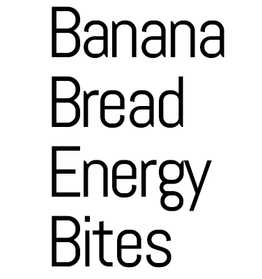 Banana Bread Energy Bites