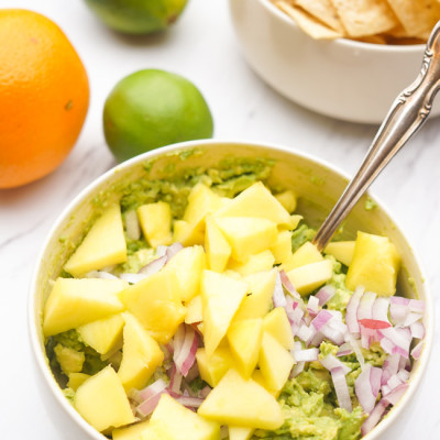 Mango Citrus Guacamole