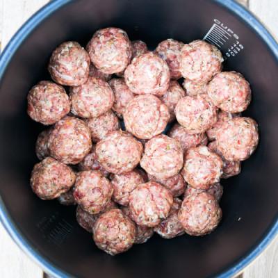 Pressure Cooker Italian Meatballs