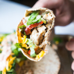 Pressure Cooker Chicken Fajitas with Charred Peppers