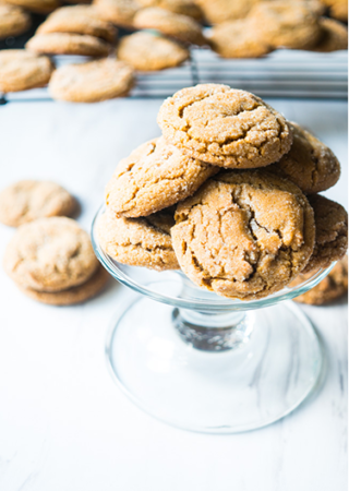 Foolproof Gingersnap Cookies. Perfectly soft and chewy cookies flavored with molasses, ginger, and cloves.