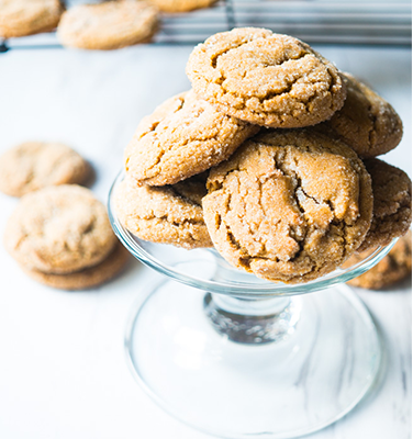 World's Best Foolproof Gingersnaps