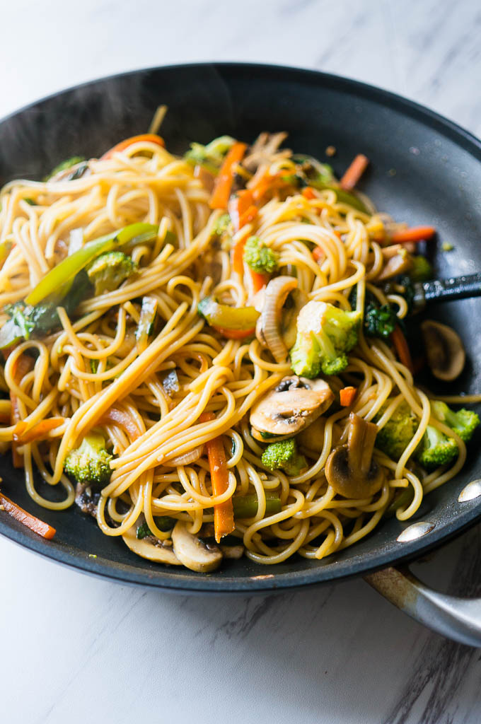 Chinese Food Recipes Vegetable Lo Mein
