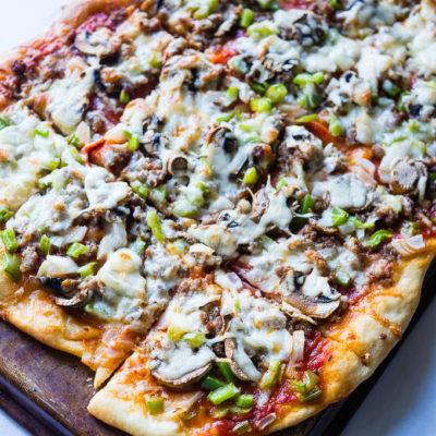 Best Ever Supreme Pizza