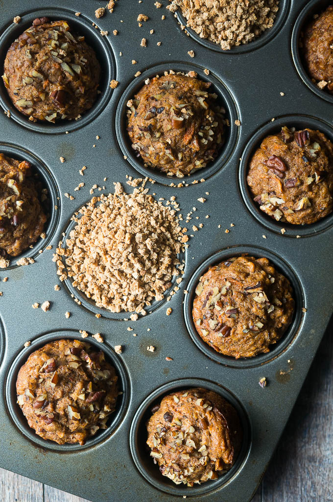 Morning Glory Grape-Nuts® Muffins. A breakfast muffin packed with so much healthy goodness - also, no sweetener except for a little bit of honey!!