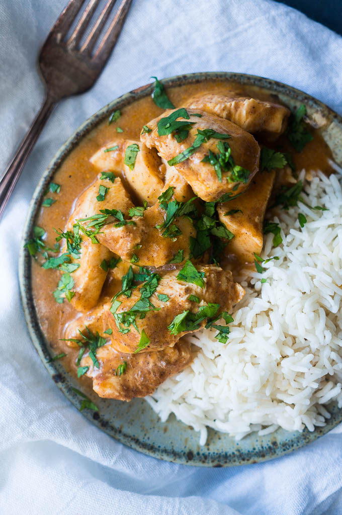 Pressure Cooker Indian Butter Chicken - Kitschen Cat