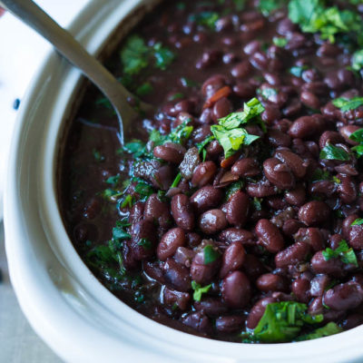 Pressure/Slow Cooker Cuban Black Beans