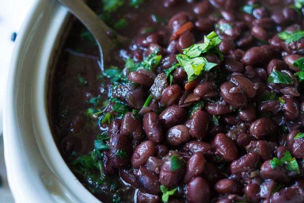 Pressure/Slow Cooker Cuban Black Beans