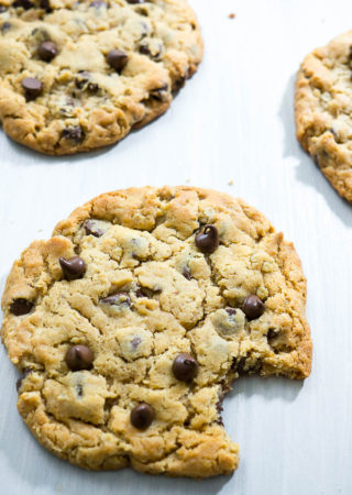 Jumbo Peanut Butter Oatmeal Chocolate Chip Cookies
