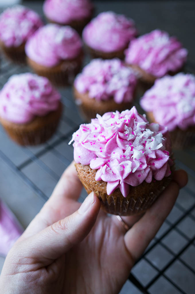 Sassy Beet Cupcakes are quite possibly the most fun you'll ever have making and eating a cupcake!