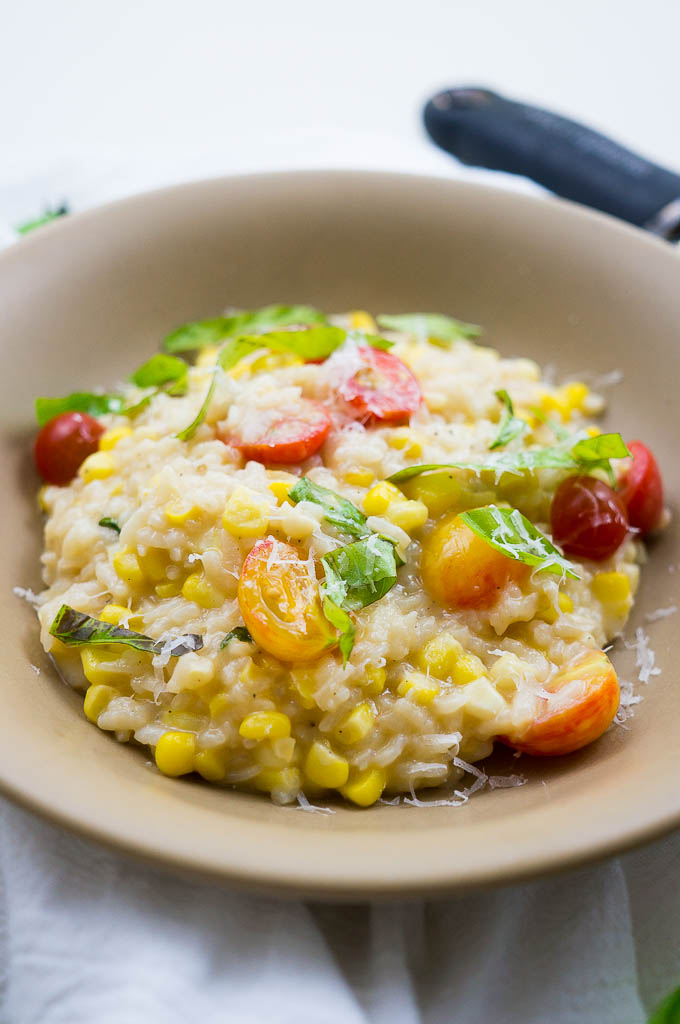 If you've never made risotto in your pressure cooker, you're missing out! It's creamy, infused with flavor, perfectly seasoned, and straight up delectable!