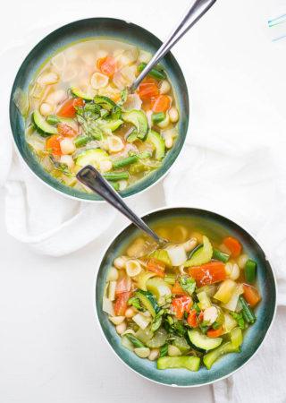 Provençal Summer Vegetable Soup