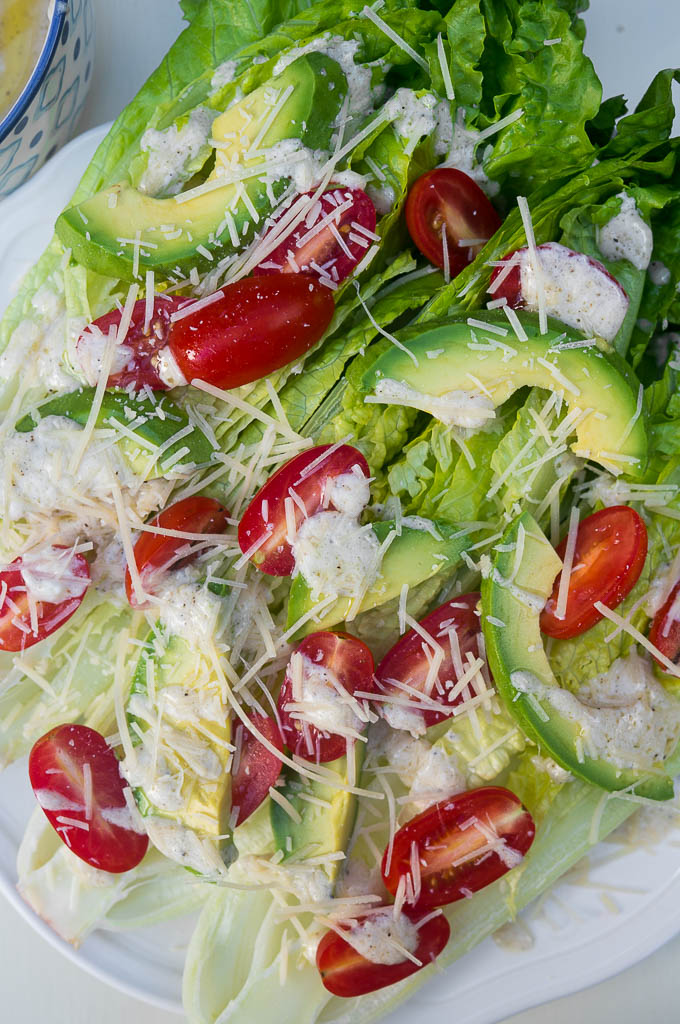 For those times when you need a quicker than quick salad, Half Wedge Caesar Salad is the way to go!