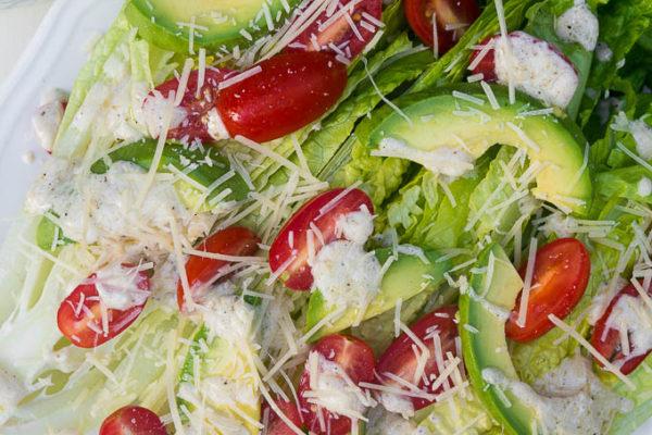 Half Wedge Caesar Salad