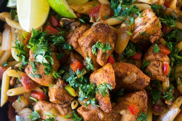One-Pan Chicken Fajita Pasta