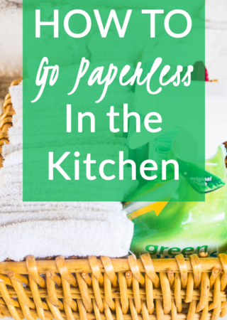 How to Go Paperless in the Kitchen