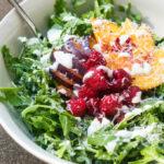 Arugula Salad with Stone Fruit