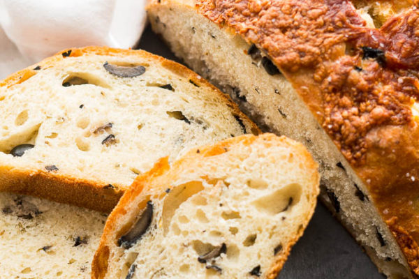 Life Changing Olive Bread