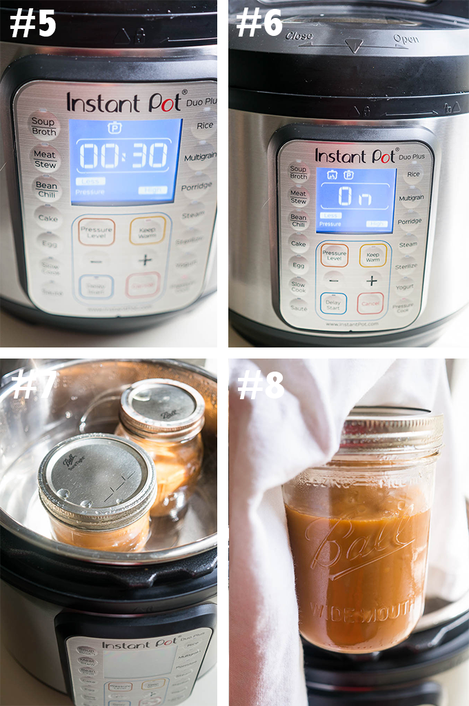 Pressure Cooker Gooey Caramel - step by step instructions to making your first batch of pressure cooker caramel!