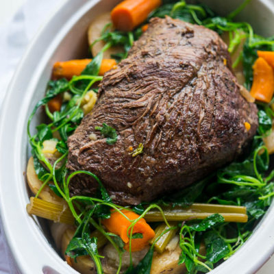 Pressure Cooker Kitchen Sink Pot Roast