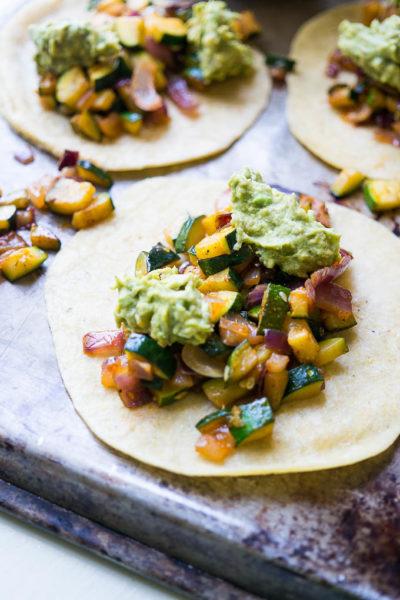 5 Ingredient Zucchini Lovin' Tacos