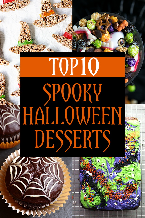Top 10 Spooky Halloween Desserts for 2017