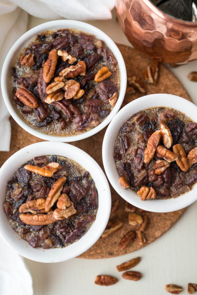 Pressure Cooker Mini Maple Bacon Pecan Pies