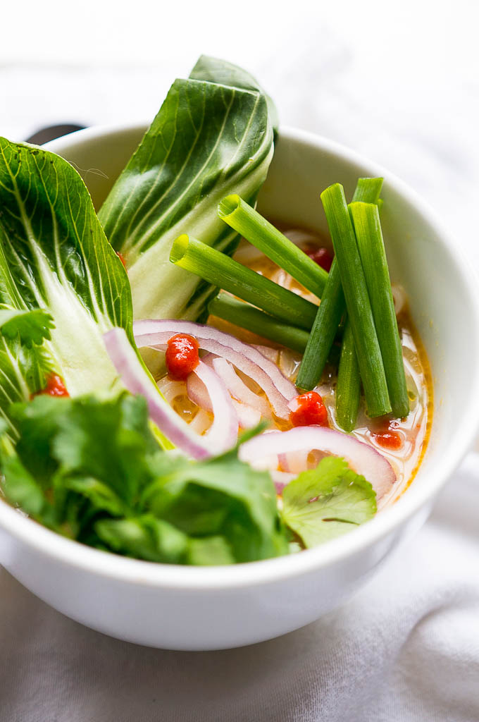 pressure cooker thai curry vegetable soup  kitschen cat