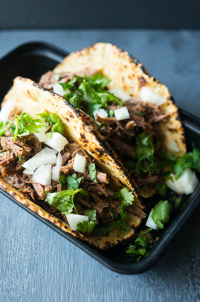 Pressure Cooker Adobo Beef Tacos are a back pocket recipe that can (and should) be pulled out for weekly dinners!