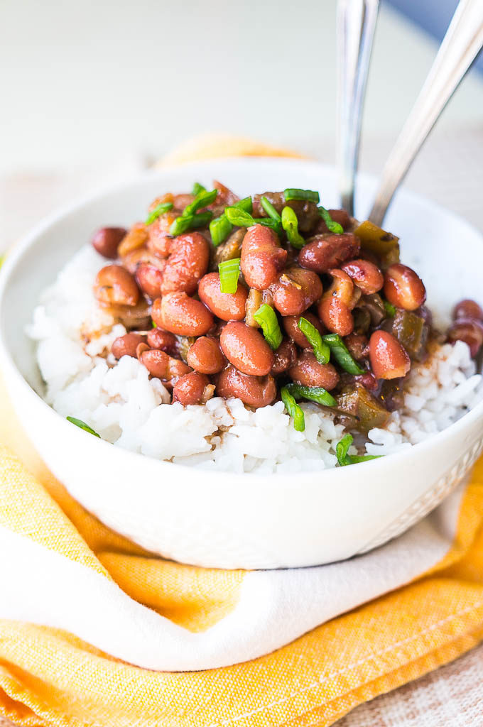 How to cook red beans and rice in pressure cooker
