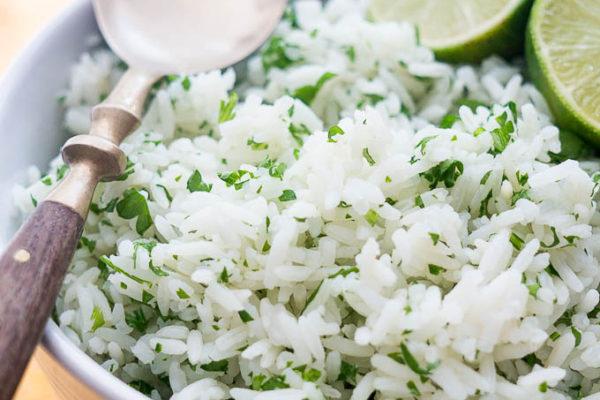 Pressure Cooker Cilantro Lime Rice