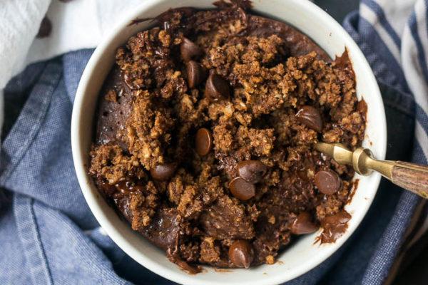 Pressure Cooker Brownie Batter Breakfast Cake