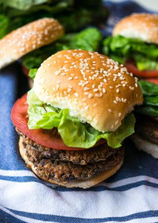 Pressure Cooker Veggie Burger Filling