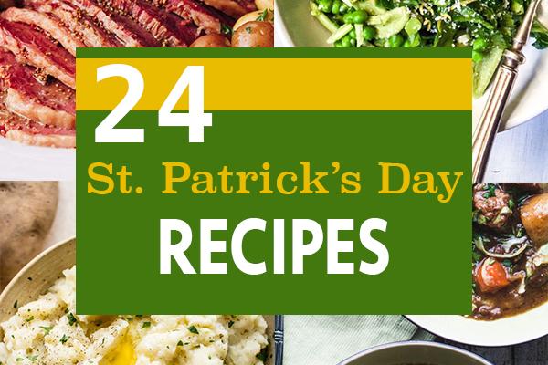 24 Lucky St. Patrick's Day Recipes