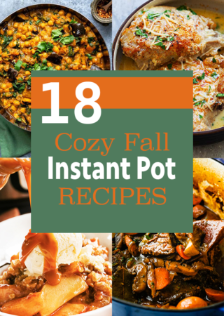 Pressure Cooker/Instant Pot Recipes for Cozy Fall Evenings