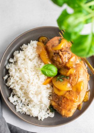 Pressure Cooker Peachy Keen Chicken